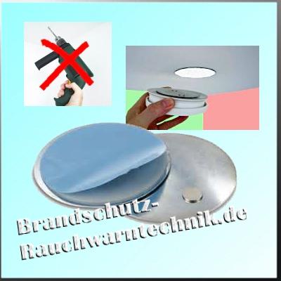 magnetbefestigung f r rauchmelder magnetolink brandschutz rauchwarntechnik. Black Bedroom Furniture Sets. Home Design Ideas
